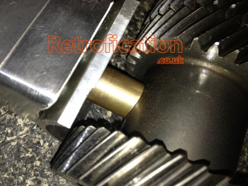 02M 02Q Gearbox 4motion Quattro R32 4th Gear Support Conversion